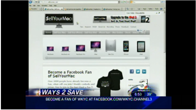 Sellyourmac_on_channel_3_news