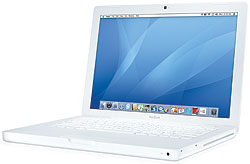 Apple MacBook Core 2 Duo 2.2 13-Inch (White-SR) - MB062LL/B
